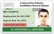 CISRS Scaffolder Jobs Cambridge