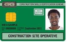 CSCS Card License