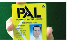 IPAF Card License