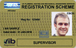 Plumbing Supervisor Registration Card