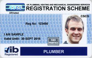 JIB Plumber Card