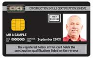 Black CSCS Card Manager